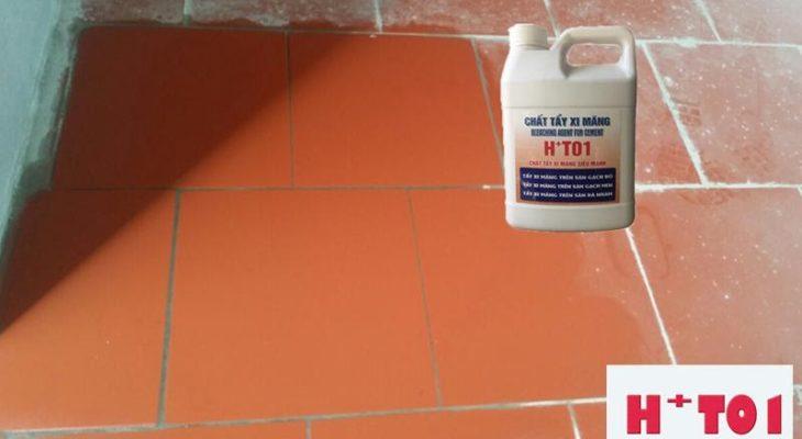 Làm thế nào để có thể sử dụng ht01 cho việc tẩy cặn canxi hiệu quả