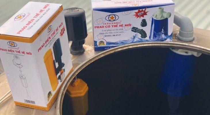 Điểm nổi bậc của hệ thống phao cơ bồn nước của Bách Khoa