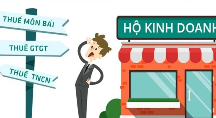Tổng hợp các loại thuế phải nộp khi đăng ký hộ kinh doanh